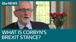 Confusion continues over Jeremy Corbyn's Brexit stance | ITV News