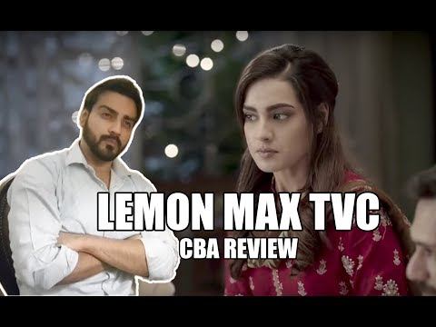 Lemon Max TVC Review |CBA| Comics By Arslan