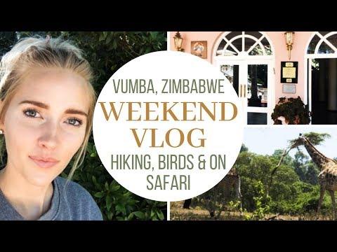 Weekend Vlog in Vumba, Zimbabwe | Pretty Little Logs