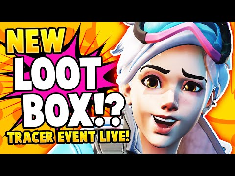 Overwatch: *NEW* Legendary Loot Box!? - Tracer Comic Challenge Skin Event LIVE!