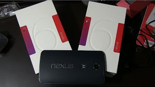 Google Nexus 6 Unboxing and Hands On