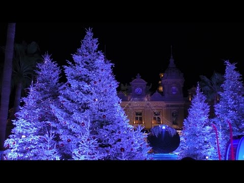 Monaco: Christmas Time | Winter Holidays in Monte Carlo. RAW (HD 1080p)