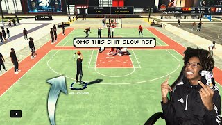 So I Played My First NBA 2K20 PARK GAME without QUICK DRAW! DID I LOSE MY FIRST PARK GAME..