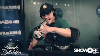 Silas freestyle on Showoff Radio with Statik Selektah! Live on Shade 45