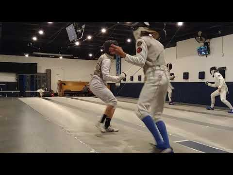 Open Fencing training