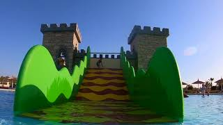 Distractie in castel pe tobogane de apa  La Aqua Park cu Bogdan`s Show