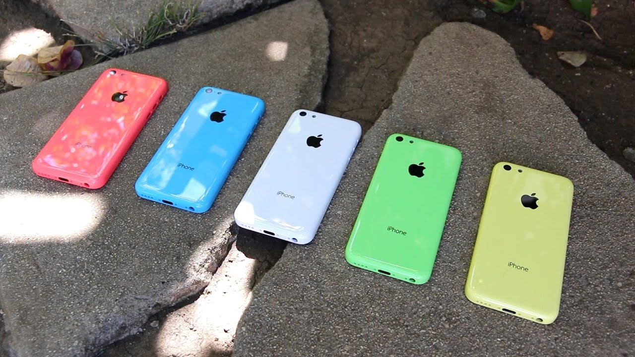 New iPhone 5C Hands-On Review: 5 Low-Cost iPhone Color Rear Shells - YouTube