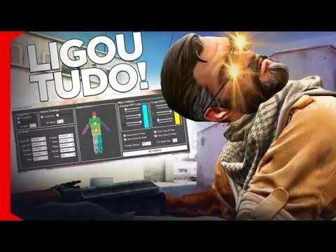 LIGOU TODOS OS HACKS E CONTINUOU RUIM! [CS:GO OVERWATCH]