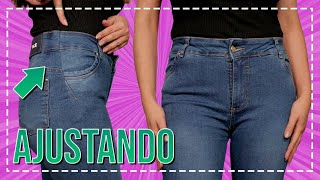 Como Ajustar Calça Jeans Larga