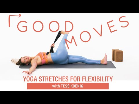 Yoga Stretches For Flexibility | Good Moves | Well+Good