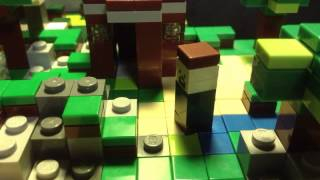 Through the night-a Minecraft Animation Lego Remake