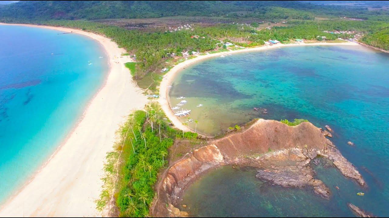 The Most Beautiful Beach In World Nacpan Palawan