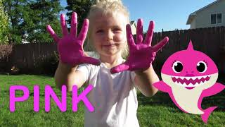 Baby Shark - Learning Colors With Baby Shark | Sing and Dance #babyshark