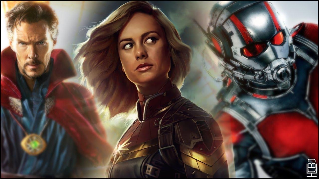 Image result for ant man captain marvel doctor strange