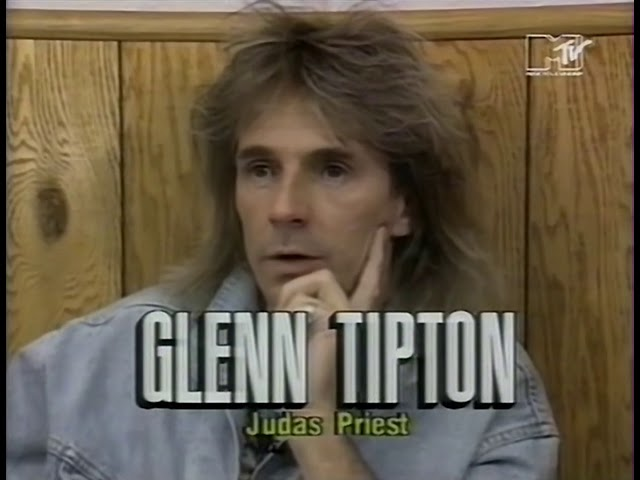 Judas Priest - Reno 1990 MTV Report