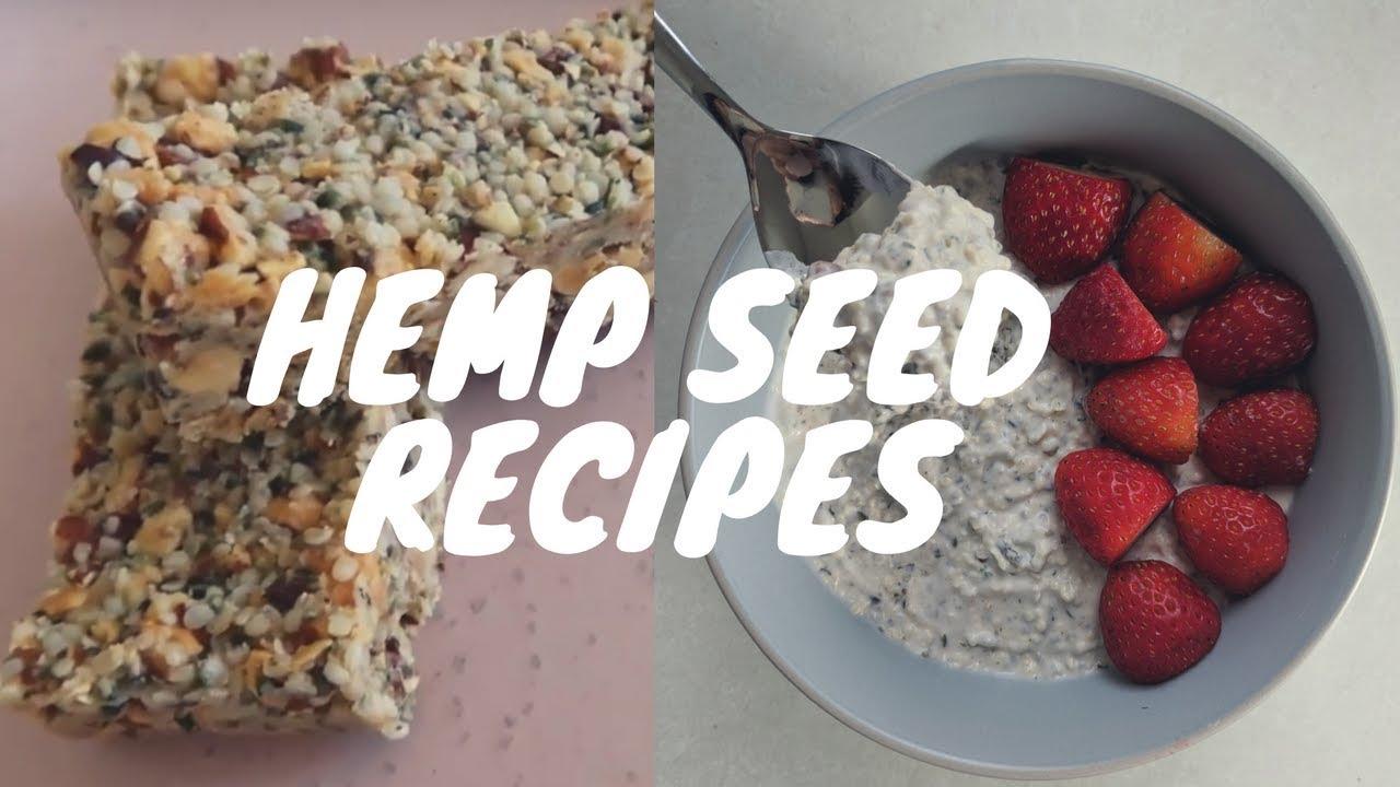 recipes in keto diet using hemp seeds