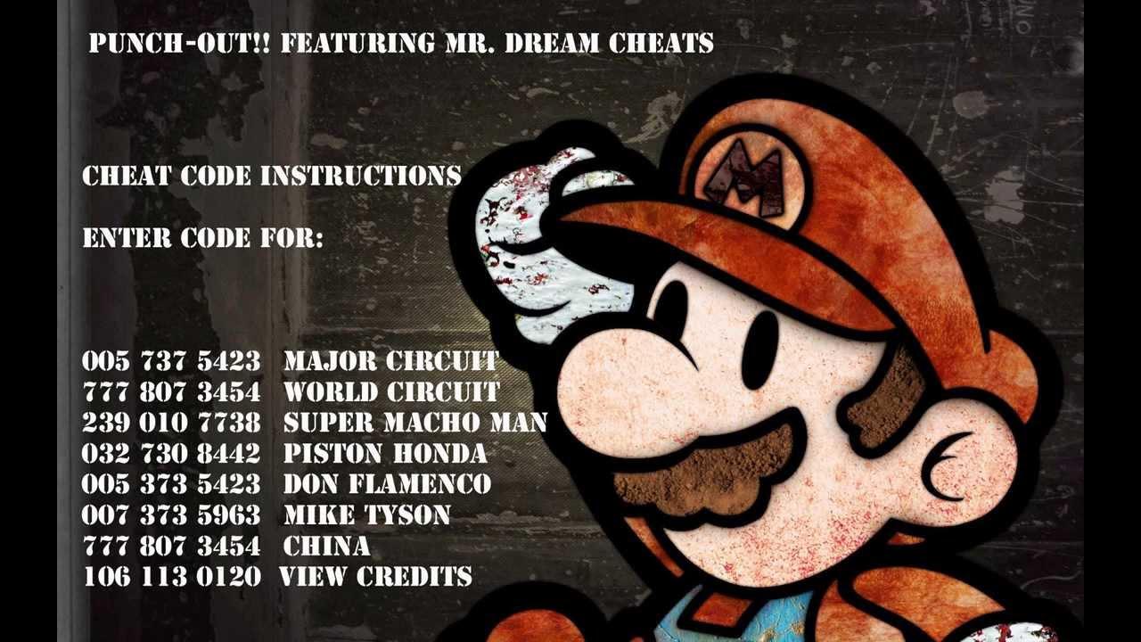 <b>Punch out</b>!! Mister Dream <b>cheats</b> - YouTube