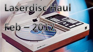 Strictly Laserdisc Haul - Feb 2017