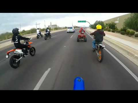 Catch us if you can - Tucson Bikelife