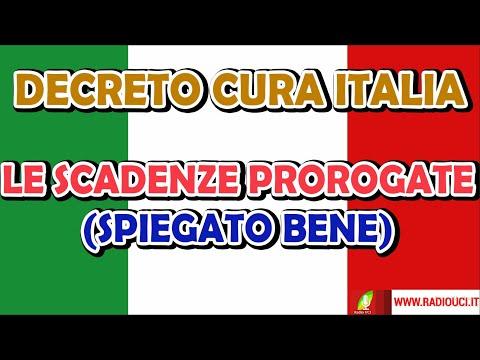 Decreto Cura ITALIA: le SCADENZE rinviate (spiegato bene) - Carta d'idenità, patente, REVISIONE, RCA