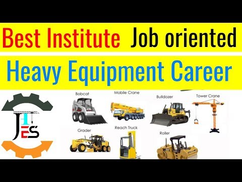 Best Institute For Crane/jcb/excavator Operator / Heavy Equipment Operator Course