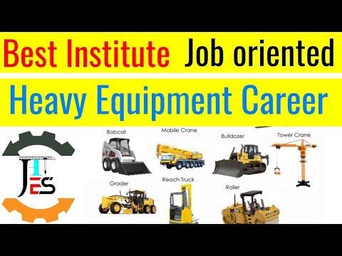 Best Institute For Crane/jcb/excavator Operator / Heavy Equipment Operator Course