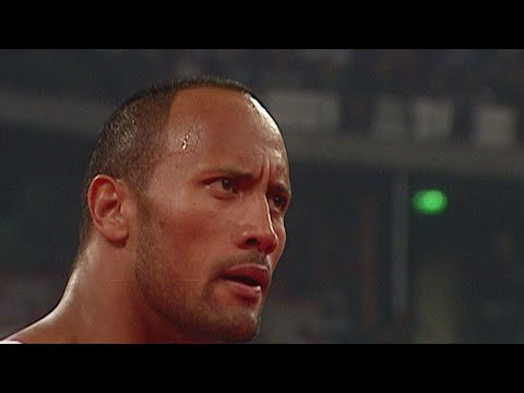 The Rock returns: Raw, August 23, 2004