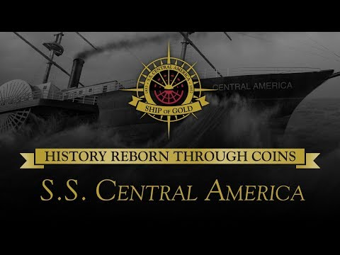 PCGS presents – History Reborn Through Coins: S.S. Central America