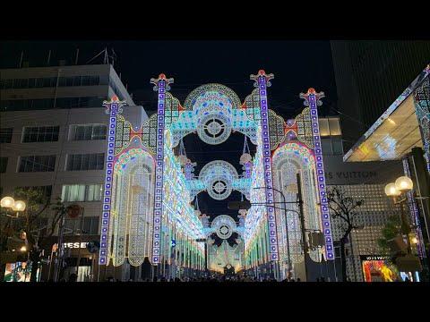 現場直播神戶光之雕刻(光之祭典)@我們一起看九點半的關燈 - YouTube