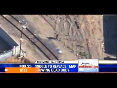 on dead person google maps