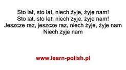 Happy Birthday in Polish  zum geburtstag viel gluck auf polnisch