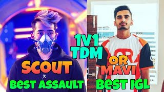 Scout vs Mavi 1v1 TDM Match   Scout vs OR Mavi TDM Match   Scout vs Mavi TDM