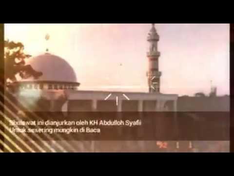 Sholawat Al Batawiyin Kh Abdulloh Syafii
