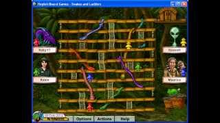 Hoyle Board Games 4 (2000) - Snakes & Ladders 01 (1 of 2)[720p]