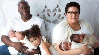 Cancer Survivor Has Quadruplets After Thinking She'd Never Get Pregnant
