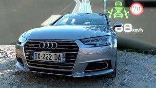 Essai nouvelle Audi A4 : elle choisit sa vitesse toute seule