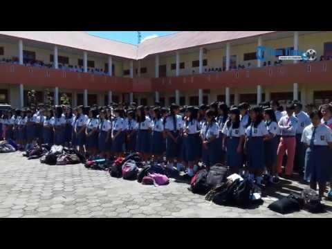 Suasana Pengumuman Kelulusan di SMAN 2 Rantepao