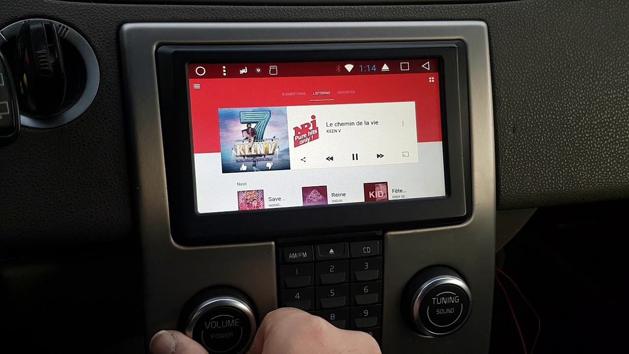Volvo C30 S40 V50 C70 Blp 990a Android 7 1 Headunit Youtube
