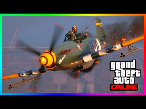GTA ONLINE NEW DLC VEHICLE RELEASED - P-45 NOKOTA REVIEW, DOGFIGHT ADVERSARY MODE & MORE! (GTA 5)
