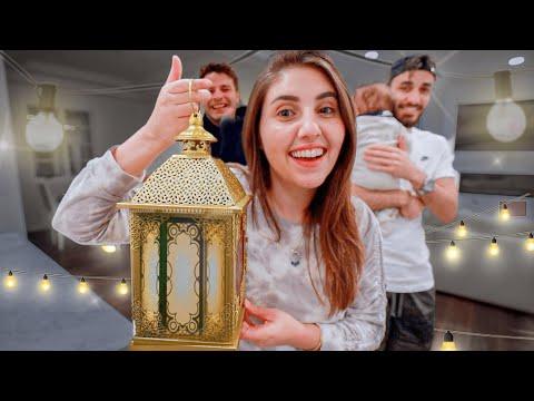 تجهيزات اول رمضان لنا في كاليفورنيا🌙(+انترو جديد) - anasala family I أنس و أصالة