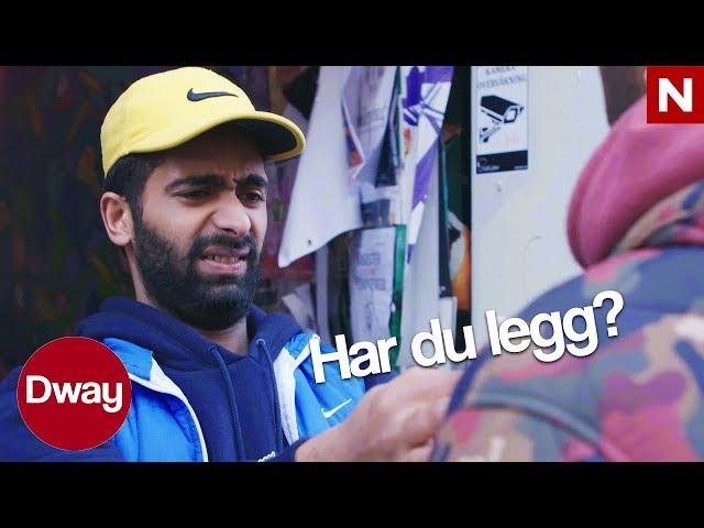 #Dway   Shafqat er dørvakt   TVNorge