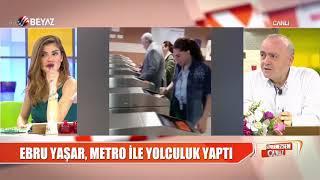 Ebru Yaşar'ın 'Metro' paylaşımına yorum yağdı!
