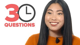 Awkwafina Answers 30 Questions In 3 Minutes