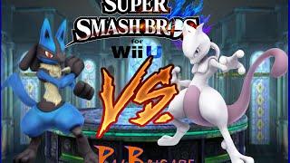 Mewtwo VS Lucario (Twitch Stream Super Smash Bros. for Wii U)
