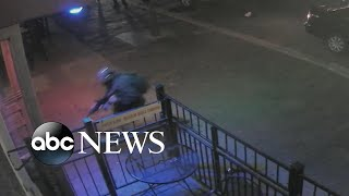 New video shows Dayton suspect trying to get inside bar l ABC News