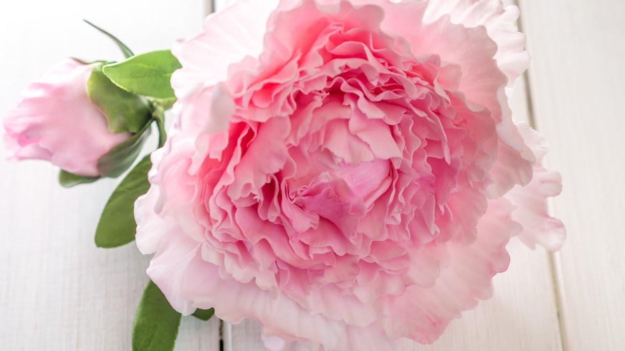 Sugar flowers for beginners: easy gumpaste peony tutorial – closed.