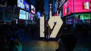 New York City Gets Ready to Ring in 2019 in Times Square