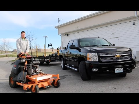 Mowing Vlog #16   Lots Of Leaves, Commercial Mowing, Timemaster In Wet Grass