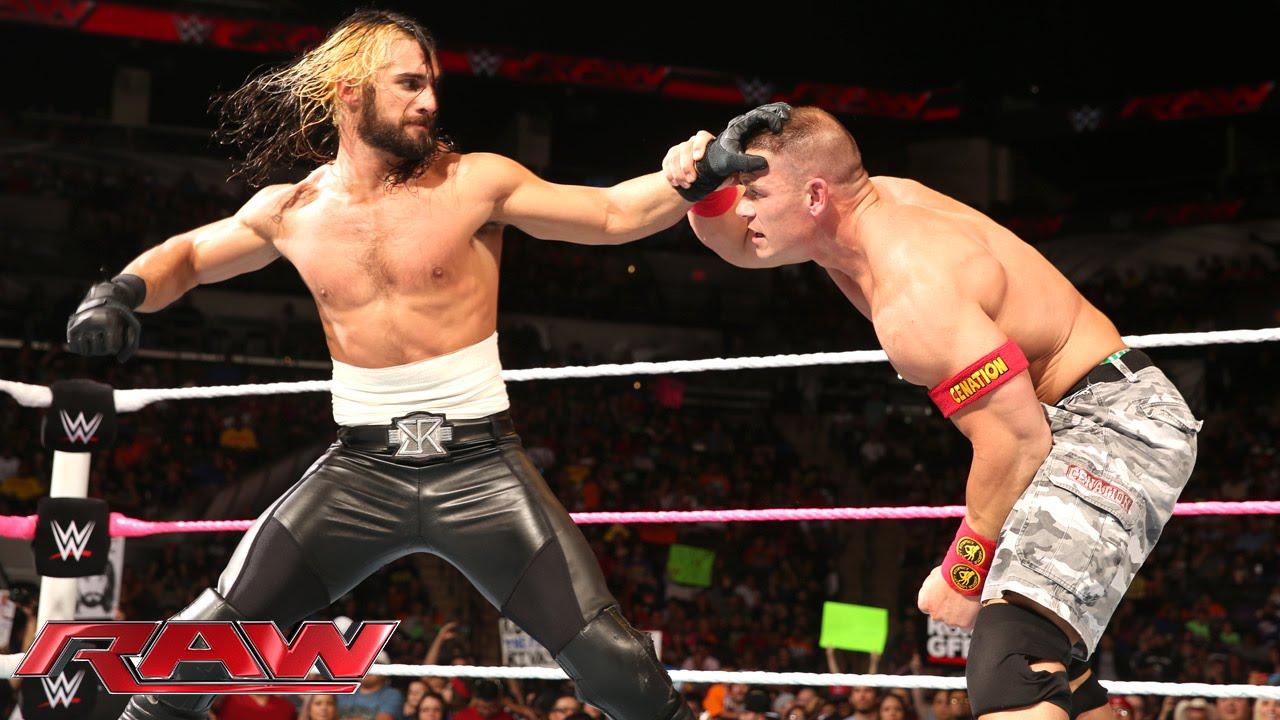 Wwe John Cena Vs Seth Rollins Tlc Full Match