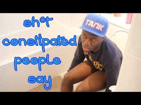 Sh*t Diarrhea People Say